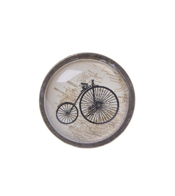 Bouton de meuble v lo vintage grand bi boutons for Meuble porte velo
