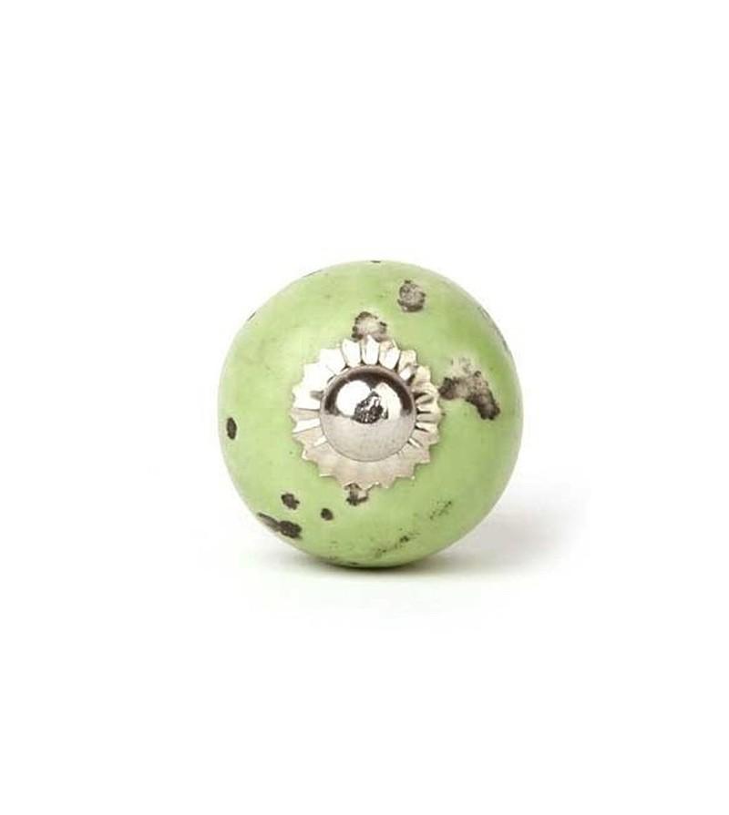 Bouton de meuble shabby en porcelaine 3 cm boutons - Bouton de meuble design ...