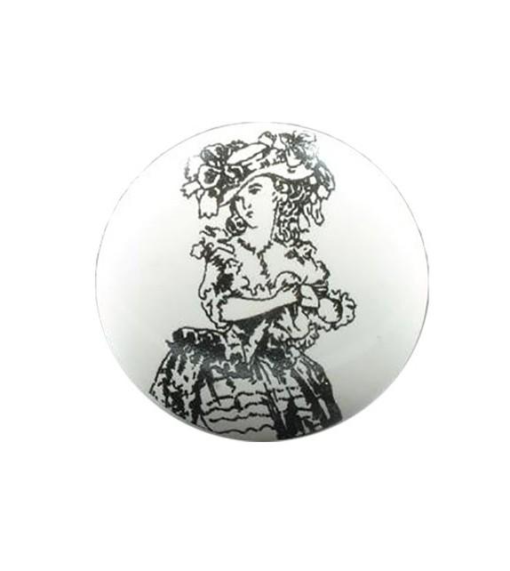 Bouton de meuble Femme XIX Siècle