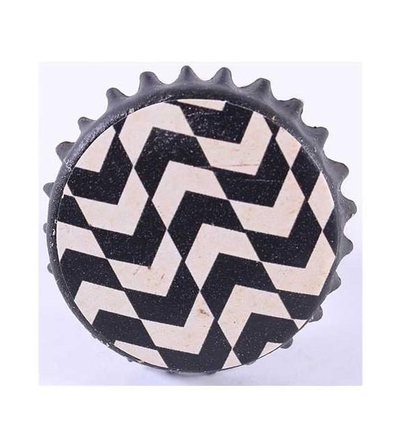 bouton de meuble capsule noire et blanche boutons. Black Bedroom Furniture Sets. Home Design Ideas