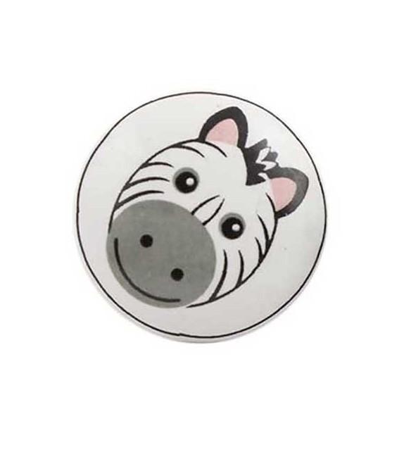 bouton de meuble animaux savane enfant porcelaine boutons. Black Bedroom Furniture Sets. Home Design Ideas