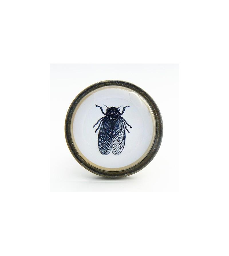 Bouton de meuble insecte mouche boutons - Meuble cabinet de curiosite ...