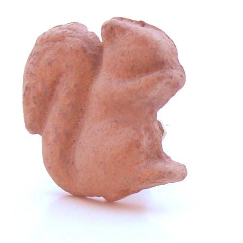 Bouton de meuble écureuil - 5 couleurs disponibles