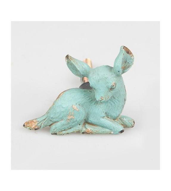 Bouton de meuble Faon - Collection Boudoir