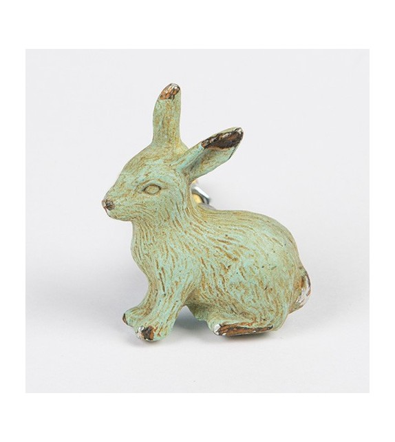 Bouton de meuble Lapin - Collection Boudoir