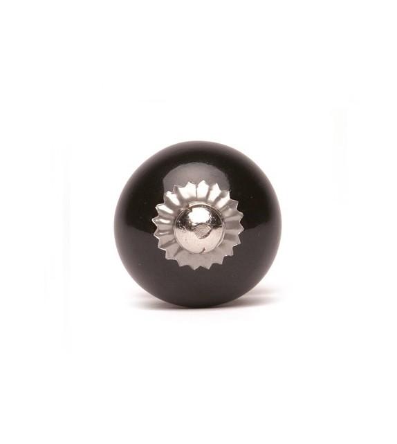 Bouton de meuble Monochrome en porcelaine - 8 couleurs disponibles - Boutons Mandarine