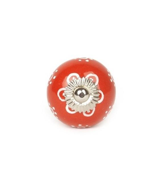 Bouton de meuble SunFlowers en porcelaine - Boutons Mandarine