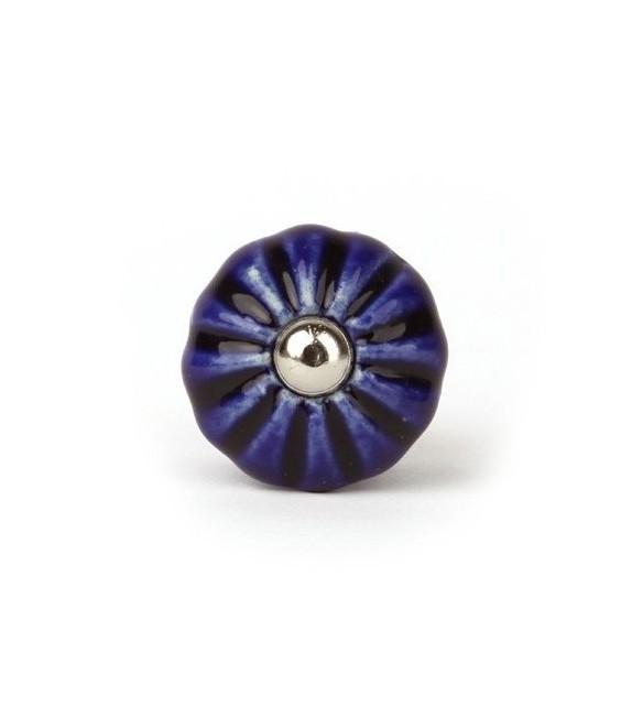 Bouton de meuble Garance en porcelaine - 12 couleurs - Boutons Mandarine