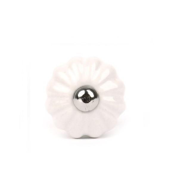 Bouton de meuble Garance en porcelaine - 12 couleurs
