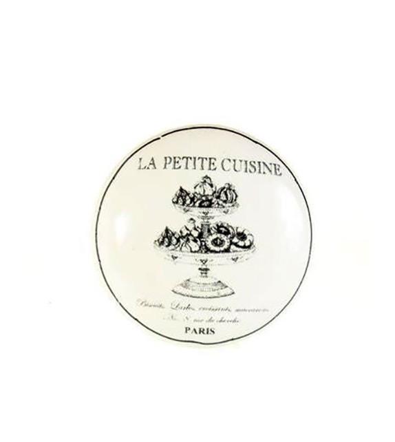 Bouton de meuble La Petite Cuisine Paris en porcelaine