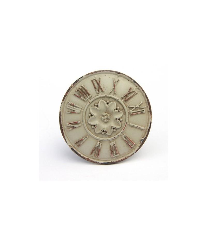 bouton de meuble horloge shabby