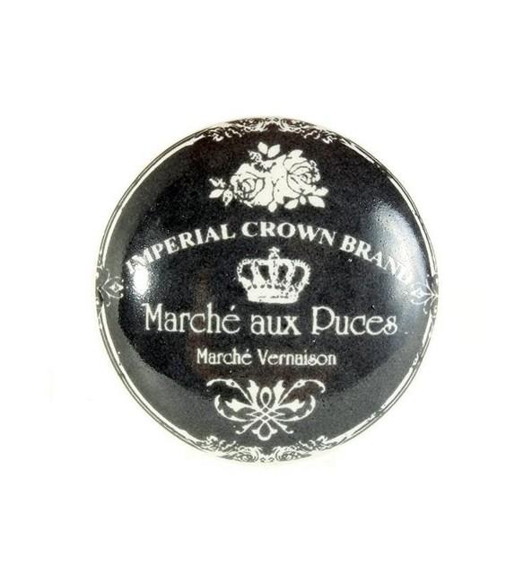 Bouton de meuble Marché aux Puces - Déco Vintage - Boutons Mandarine