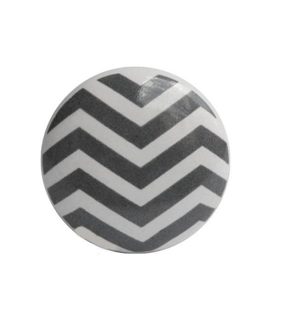 Bouton de meuble Chevron - 6 couleurs