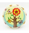 Bouton de meuble Enchanté - l'Arbre en fleur en porcelaine
