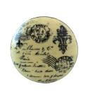 Bouton de meuble Lettre de Paris