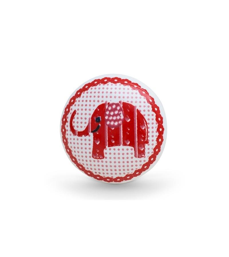 bouton de meuble enfant l phant boutons. Black Bedroom Furniture Sets. Home Design Ideas