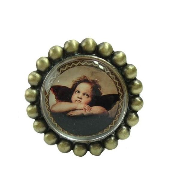 bouton de meuble petit ange n 3 en laiton boutons. Black Bedroom Furniture Sets. Home Design Ideas