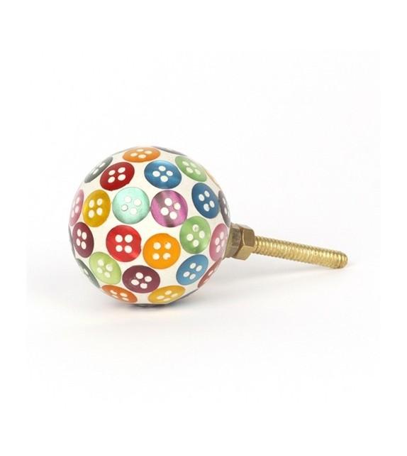 Bouton de meuble Bubble - boutons multicouleurs
