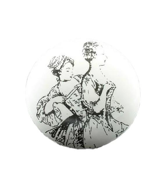 Bouton de meuble Femmes XIX Siècle