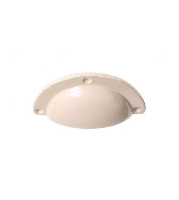 Poignée de meuble coquille monochrome - Boutons Mandarine