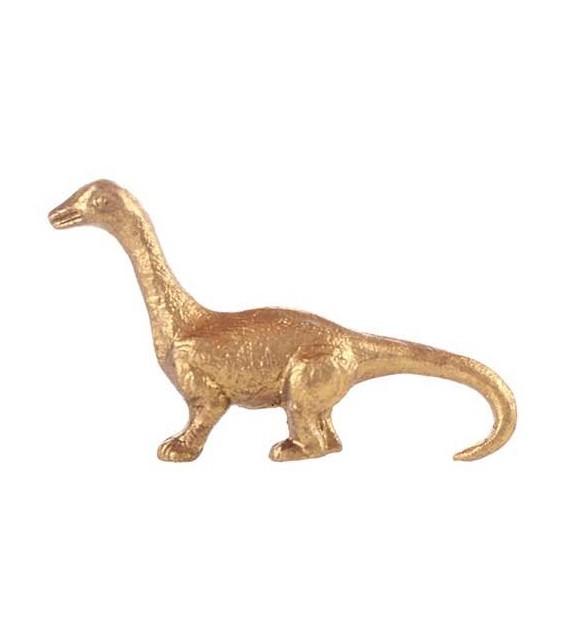 Bouton de meuble en métal Dinosaure pour enfant