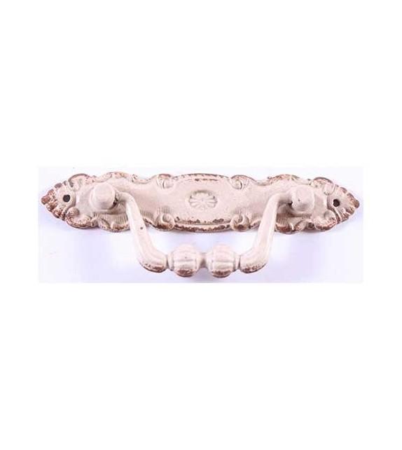Poignée de meuble en métal Ines pour façade - Boutons Mandarine