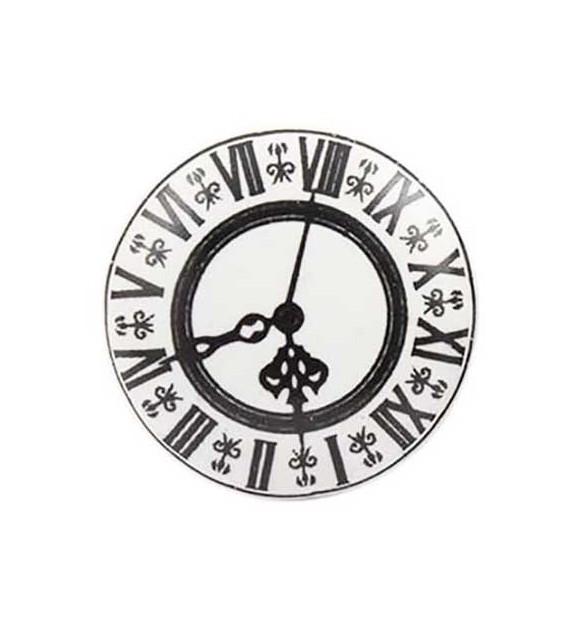Bouton de meuble Horloge Cathédrale en porcelaine - Boutons Mandarine