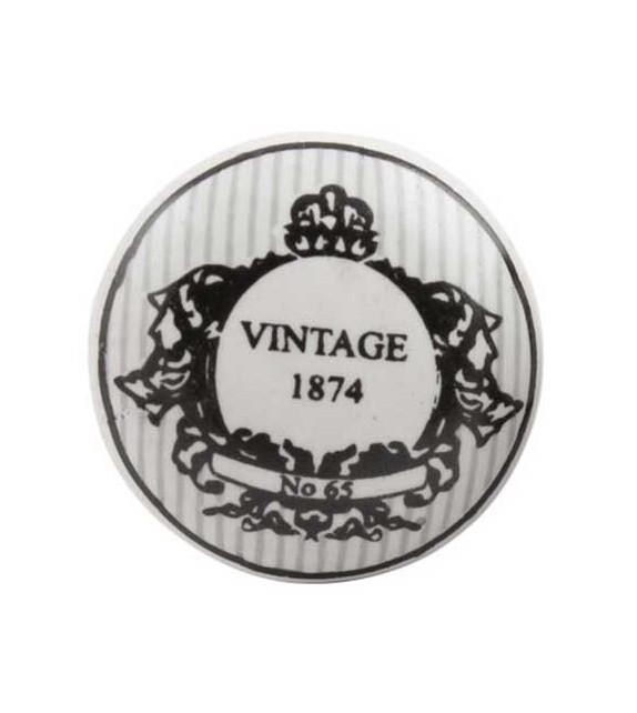 Bouton de meuble vintage 1874 - Boutons Mandarine