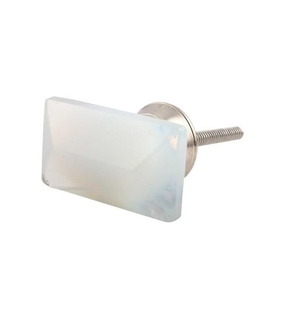 Bouton de meuble en verre Prisme