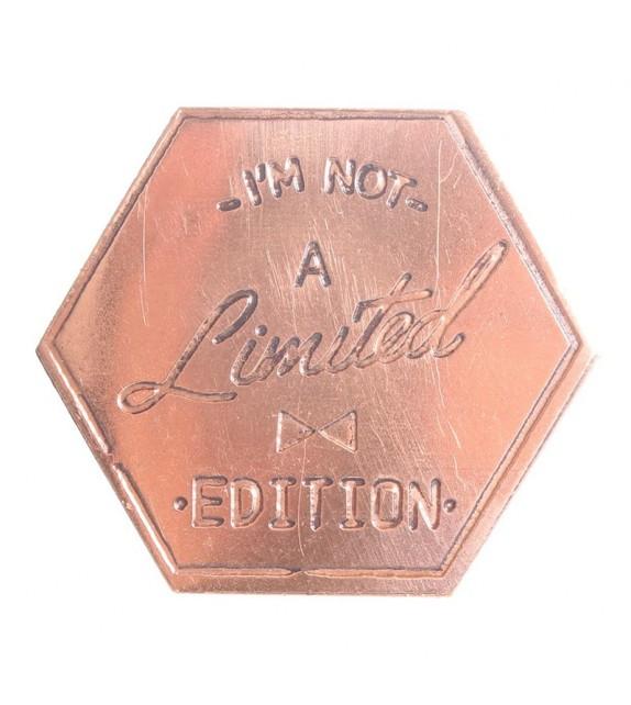 Bouton de meuble cuivré hexagonale Edition Limited - Boutons Mandarine