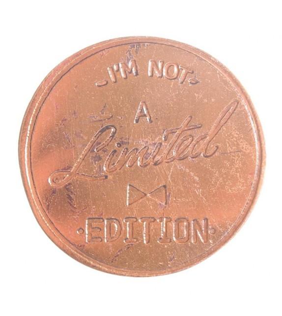 Bouton de meuble cuivré rond Edition Limited - Boutons Mandarine