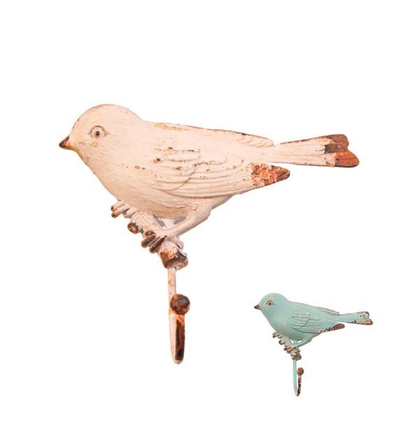 Patère murale L'oiseau sur une branche - 1 crochet