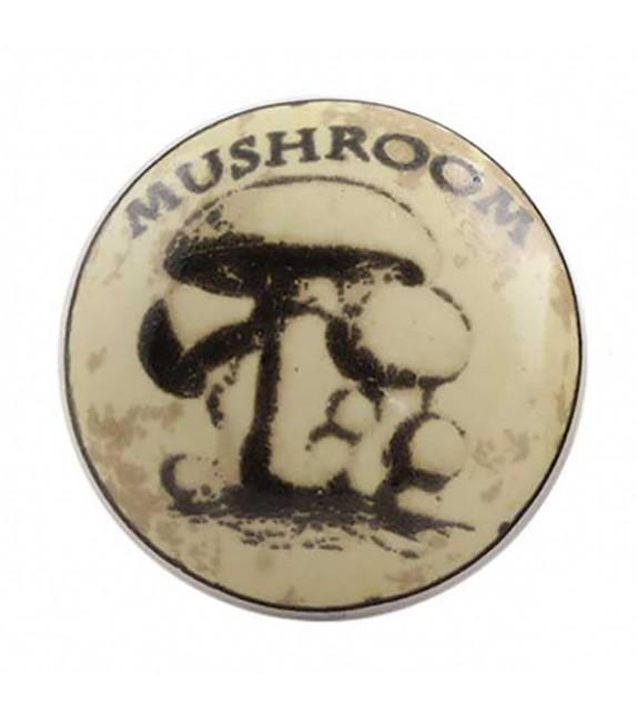 Bouton de meuble en porcelaine Champignon Mushroom