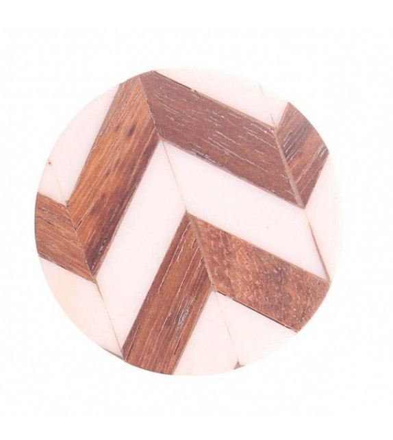 Bouton de meuble Chevron en bois