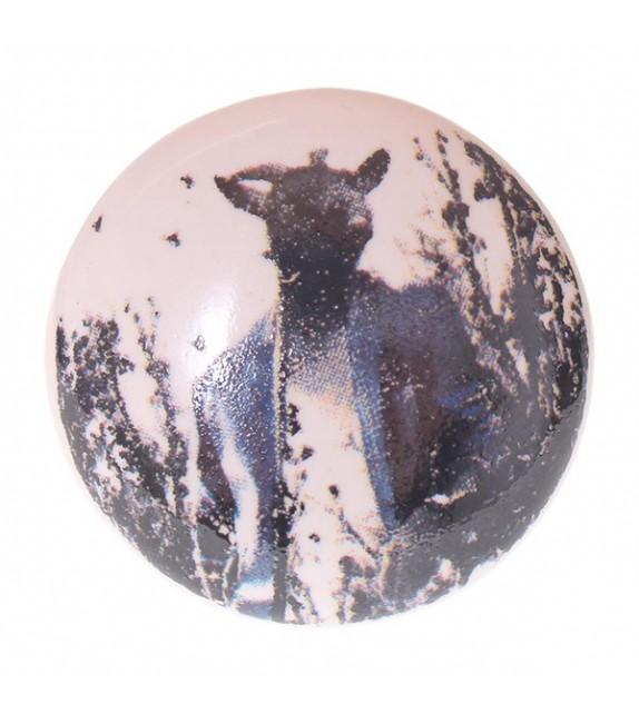 bouton de meuble originaux porcelaine enfant vintage boutons. Black Bedroom Furniture Sets. Home Design Ideas