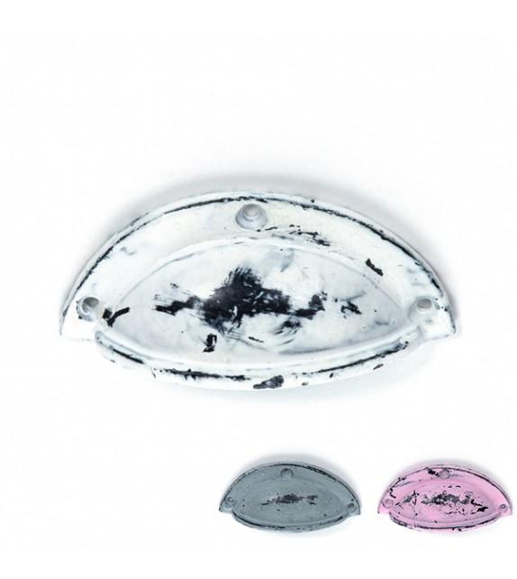 Poignée de meuble coquille Laure - Boutons Mandarine