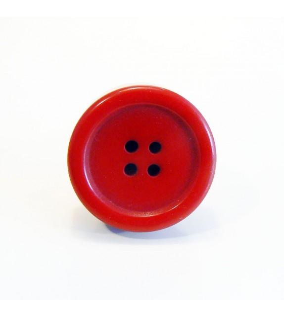 Bouton de meuble Bouton de vêtement rouge - Style original - Boutons Mandarine