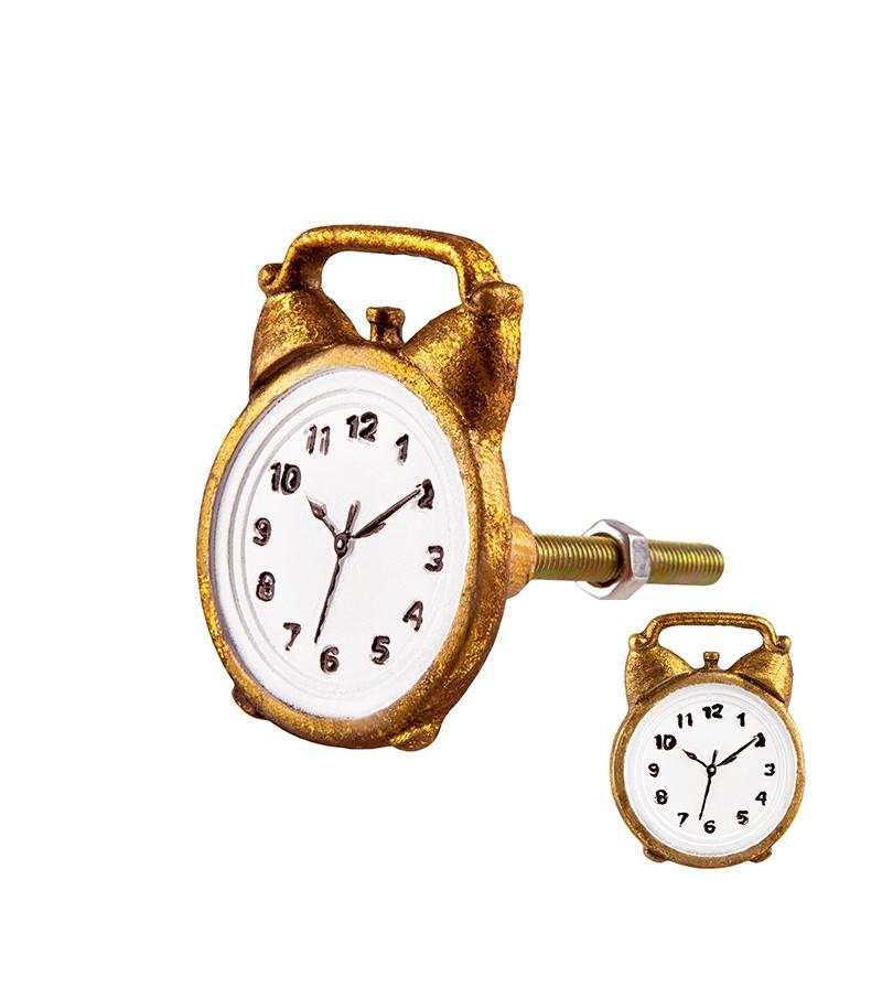 Poignée Bouton de Porte Vintage Métal pour Tiroir Placard Fille et Lapin
