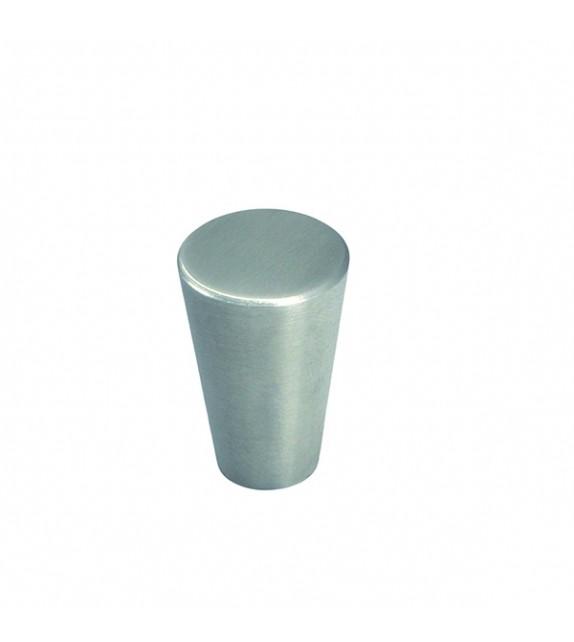 Petit bouton de meuble conique inox Acero - Boutons Mandarine