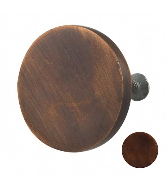 Bouton de meuble en métal rond Industriel - Boutons Mandarine