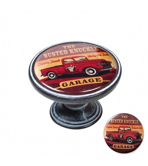 Bouton de meuble voiture GARAGE PICKUP - Boutons Mandarine