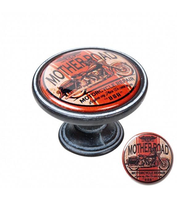 Bouton de meuble moto MOTHER ROAD - Boutons Mandarine