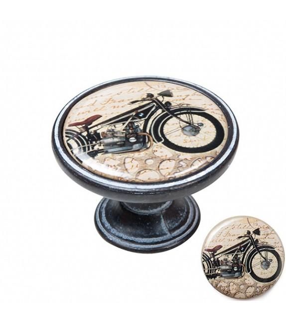 Bouton de meuble moto BMW rétro vintage - Boutons Mandarine