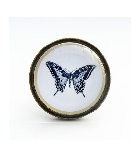 Bouton de meuble Papillon - Cabinet de curiosités - Boutons Mandarine